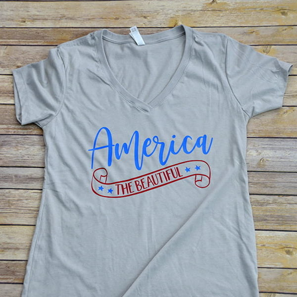 America the Beautiful Short Sleeve Shirt