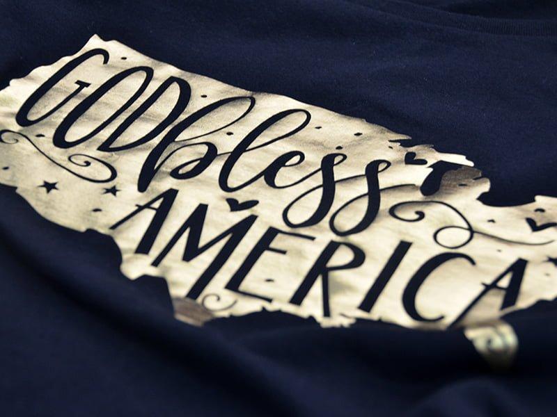 God Bless America Short Sleeve Shirt