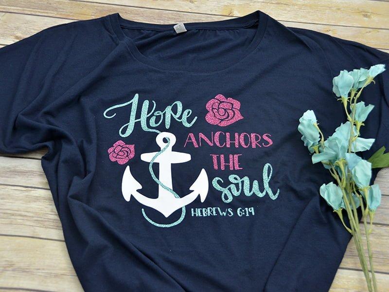 Hope Anchors the Soul Short Sleeve Shirt