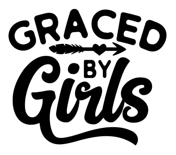 Graced by Girls Decals