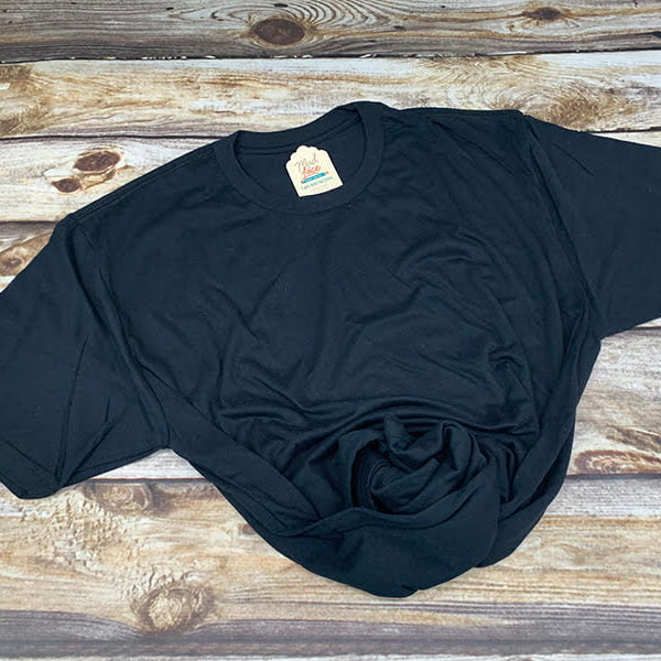 Adult Black Tshirt
