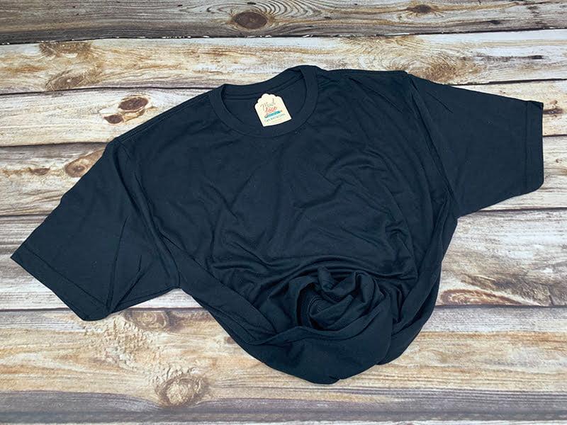 Adult Black Tshirt