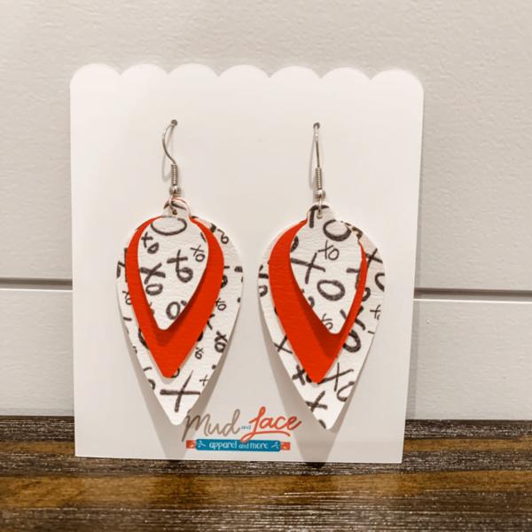 Valentine Hugs and Kisses Earrings