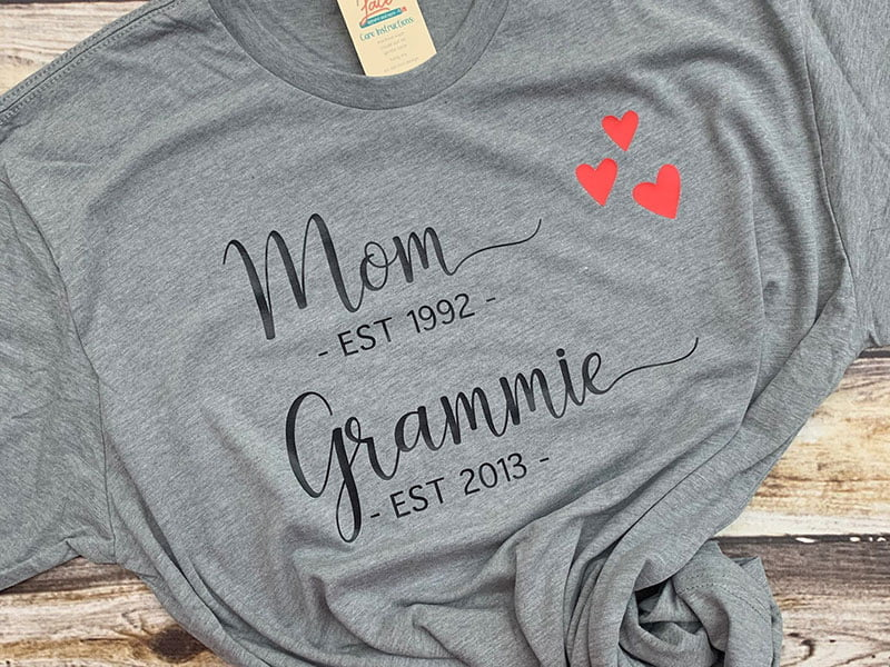 Mom Grandma Established Shirt