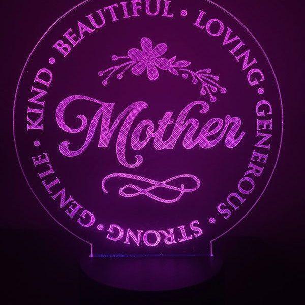Mother Pink LED Light