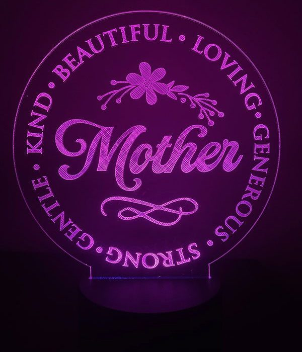 Mother Pink LED Light