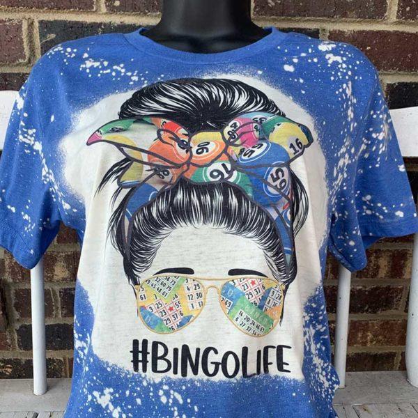 Bingo Life Bleached Shirt