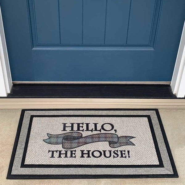 """Outlander inspired """"Hello, the House!"""" doormat"""
